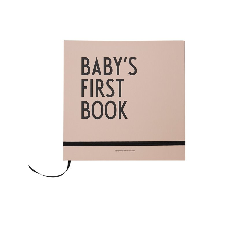 Design Letters Baby's First Book - Nude