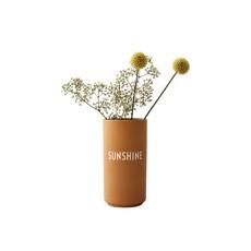 Design Letters Favourite Vase - Mustard