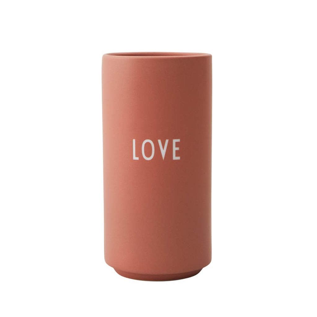 Design Letters Favourite Vase - Nude