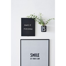 Design Letters Letter Box Large - Black