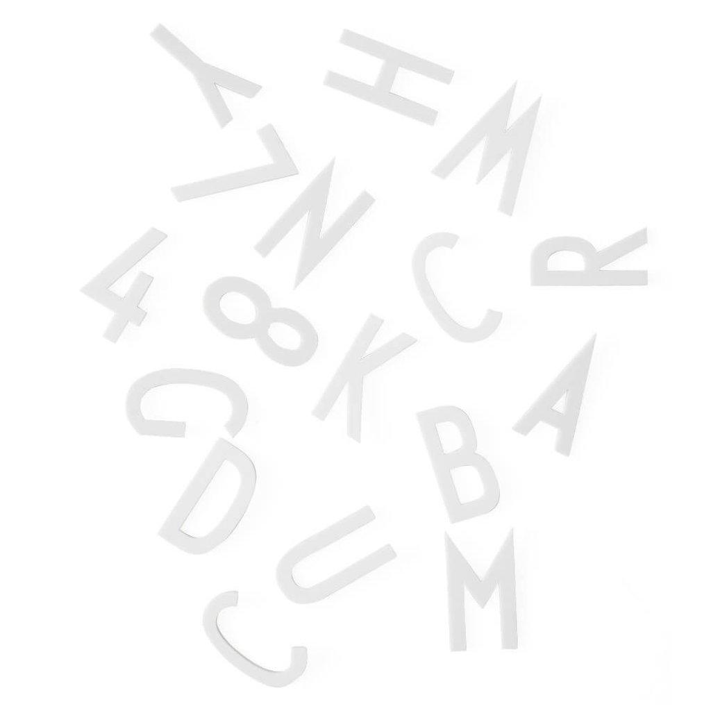 Design Letters Letter Box Large - White