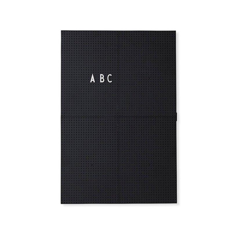 Design Letters Message Board A3 - Black