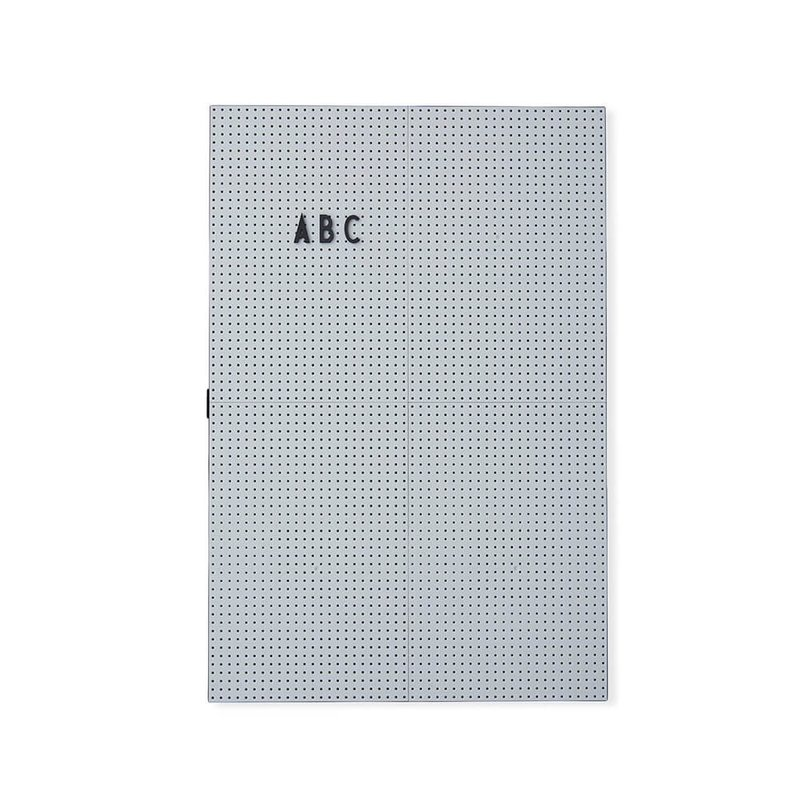 Design Letters Message Board A3 - Light Grey