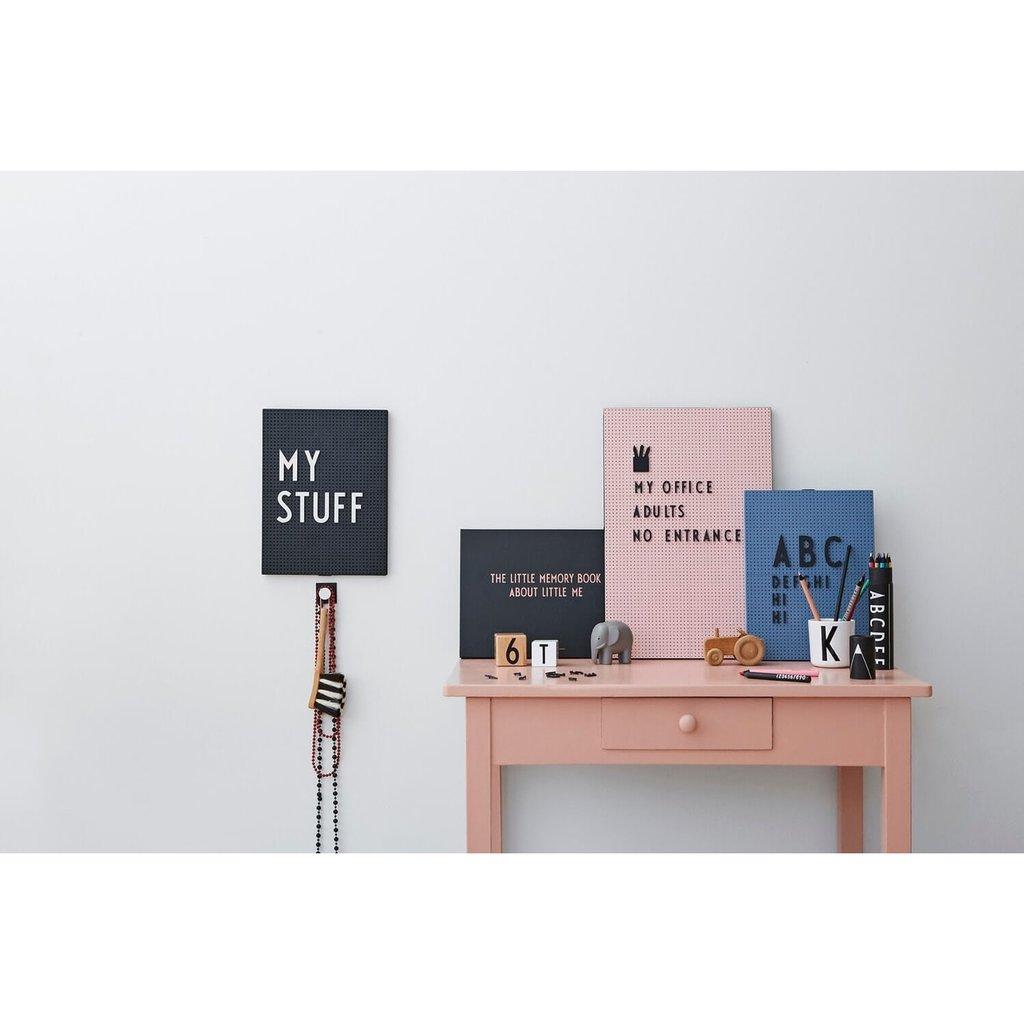 Design Letters Message Board A3 - Nude