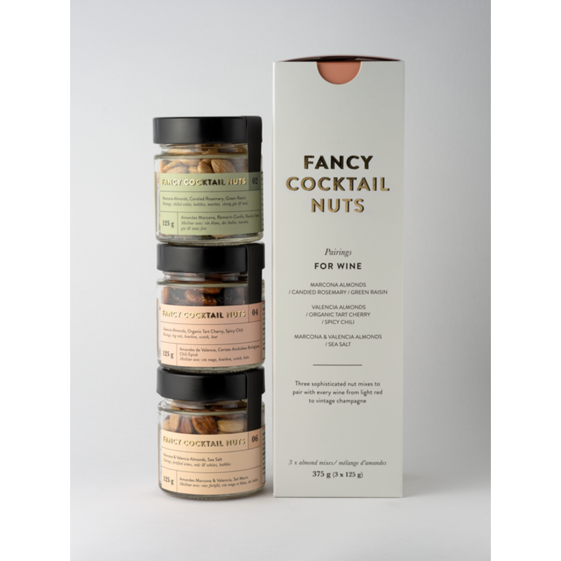Salted Co Fancy Nuts - Wine Trio