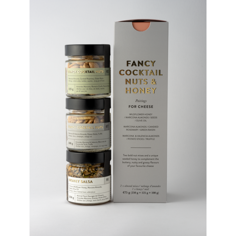 Fancy Nuts - Cheese Trio