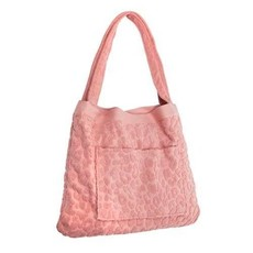 Terry Towel Tote Call Of The Wild - Blush Pink