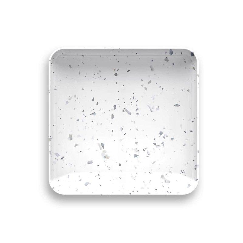 "Faire - Tarong Terrazzo Appetizer Plate 5.7"" x 5.7"" Melamine"