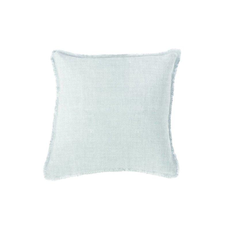 """Faire - Anaya Home Light Blue Soft Linen Pillow   20"""" x 20"""""""
