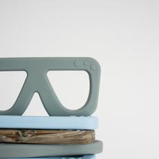 Glasses Teething Toy   Slate