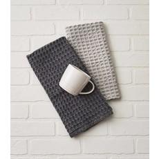 Waffle Weave Towel - Slate
