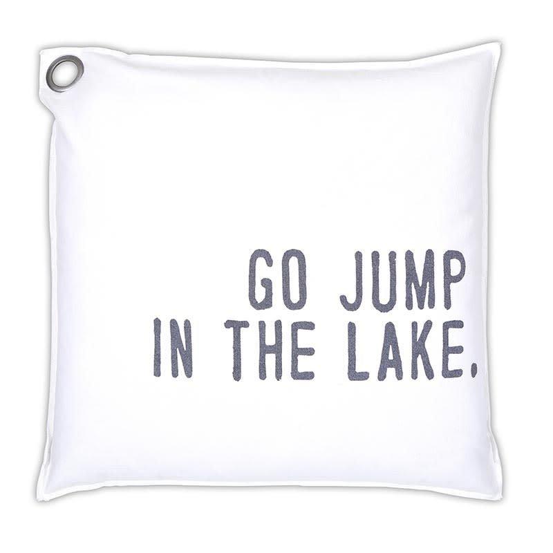 Santa Barbara Design Studio Euro Pillow - Go Jump In The Lake