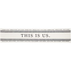 THIS IS US TABLE RUNNER