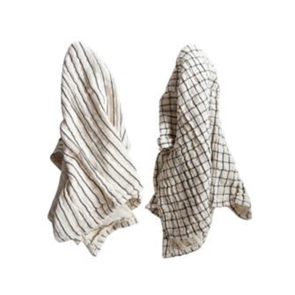 Creative Coop Cotton Tea Towel - Natural