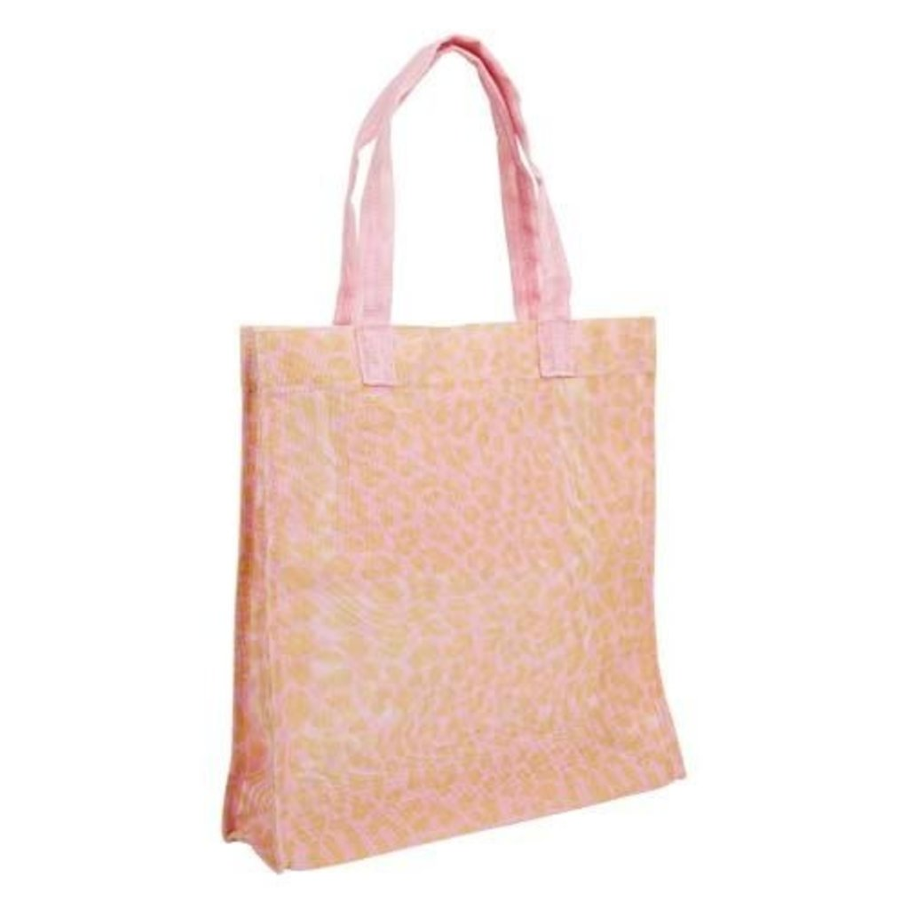 Sunnylife Market Tote Call Of The Wild - Peachy Pink