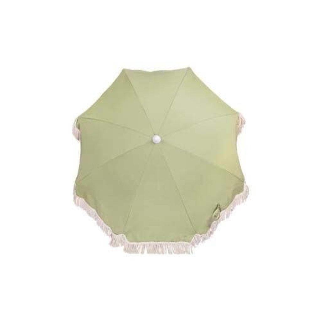 Sunnylife Luxe Beach Umbrella Olive
