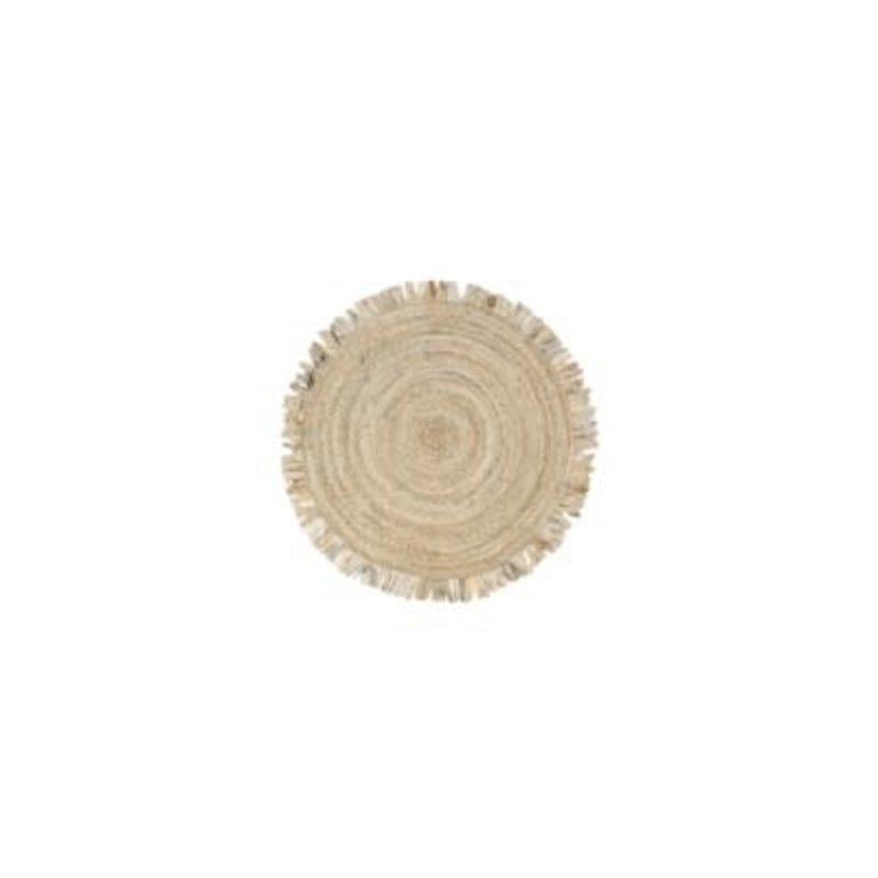 Indaba Roundie Rag Rug