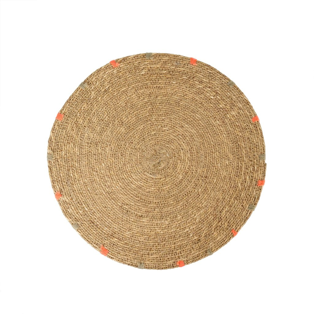 Indaba Cassia Seagrass Placemat, Tan