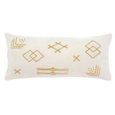 Indaba Safi Pillow, White