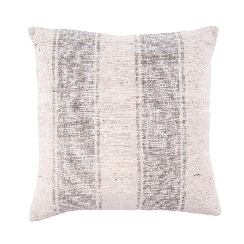 Indaba Serena Slub Pillow, Grey