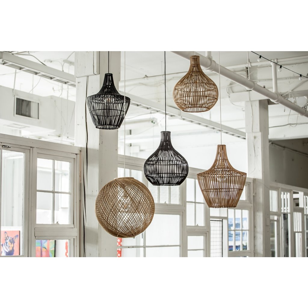 Style In Form Bohemian Lordes Pendant Lamp - Black