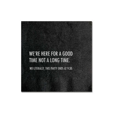 Pretty Alright Goods Good Time Cocktail Napkin