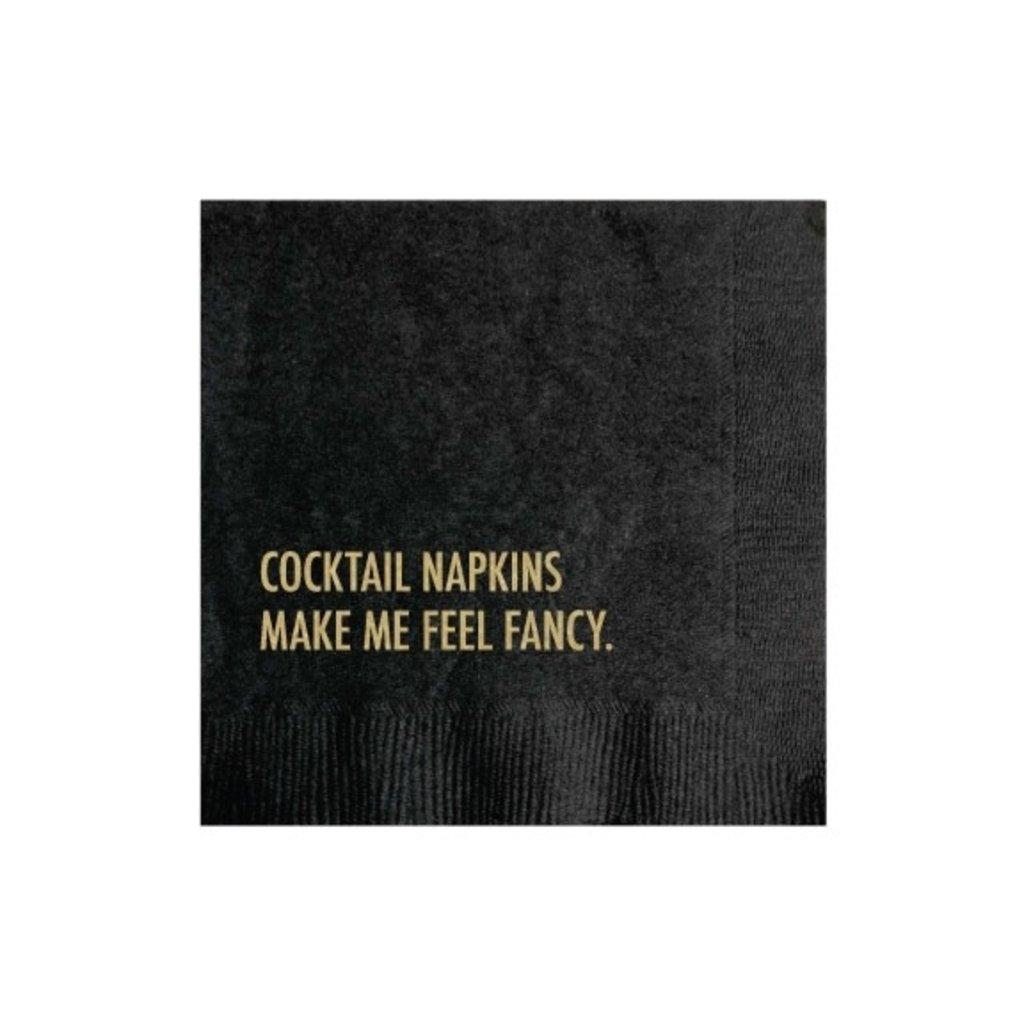 Pretty Alright Goods Feeling Fancy Cocktail Napkin