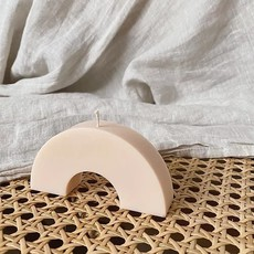 Opal Living Arch Candle | Beige