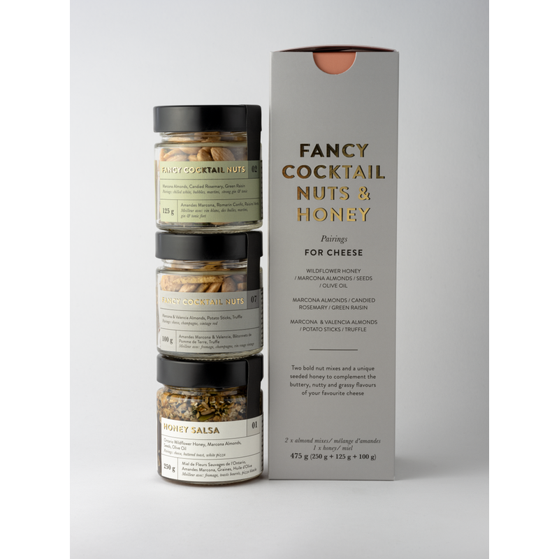 Salted Co Fancy Nuts: TRIO for cheese