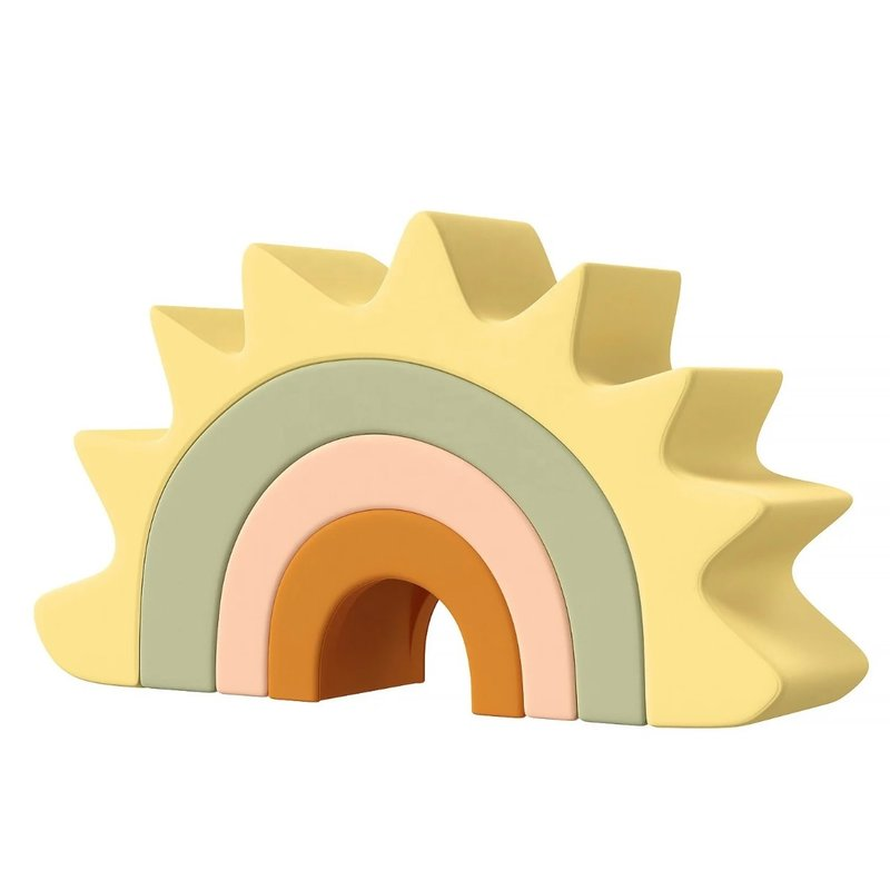 North Shore Kids Sunshine Silicone Teether/Toy