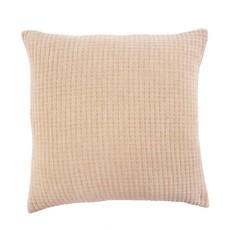 Indaba Kantha-Stitched Pillow Chambray