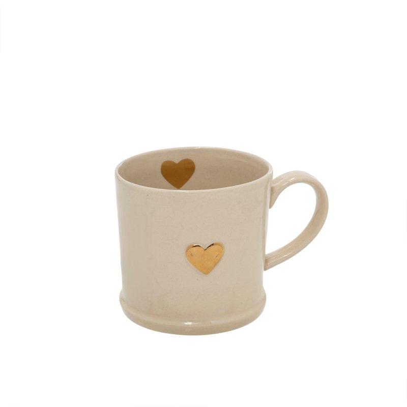Indaba Sweetheart Mug Gold