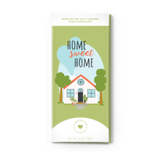 Faire - Sweeter Cards Home Sweet Home Greeting Chocolate Bar Card