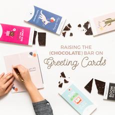 Faire - Sweeter Cards Sending Hugs Chocolate Bard Card