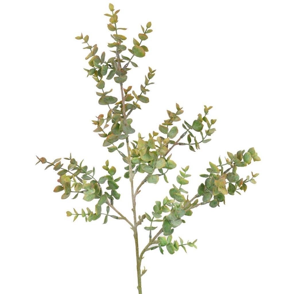 """David Christopher's Collection 33.5"""" Eucalyptus Spray - Orange/Green"""