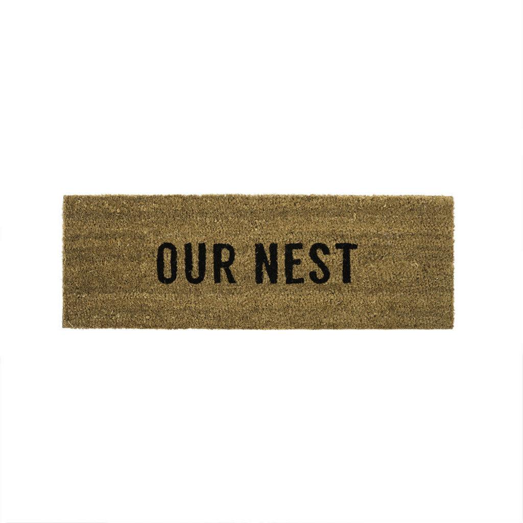 Indaba Our Nest Doormat