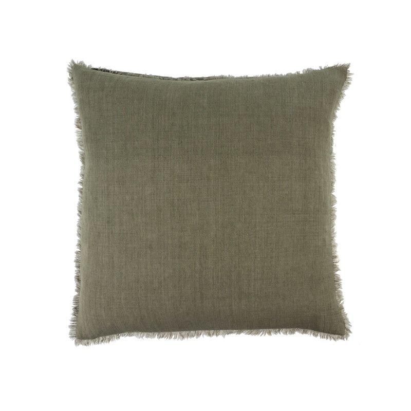 Indaba Lina Linen Pillow, Laurel