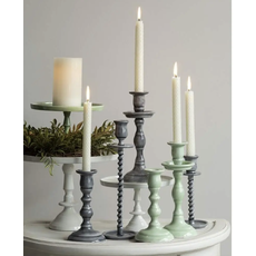 Faire Empire Taper Candle Holder Mint Small