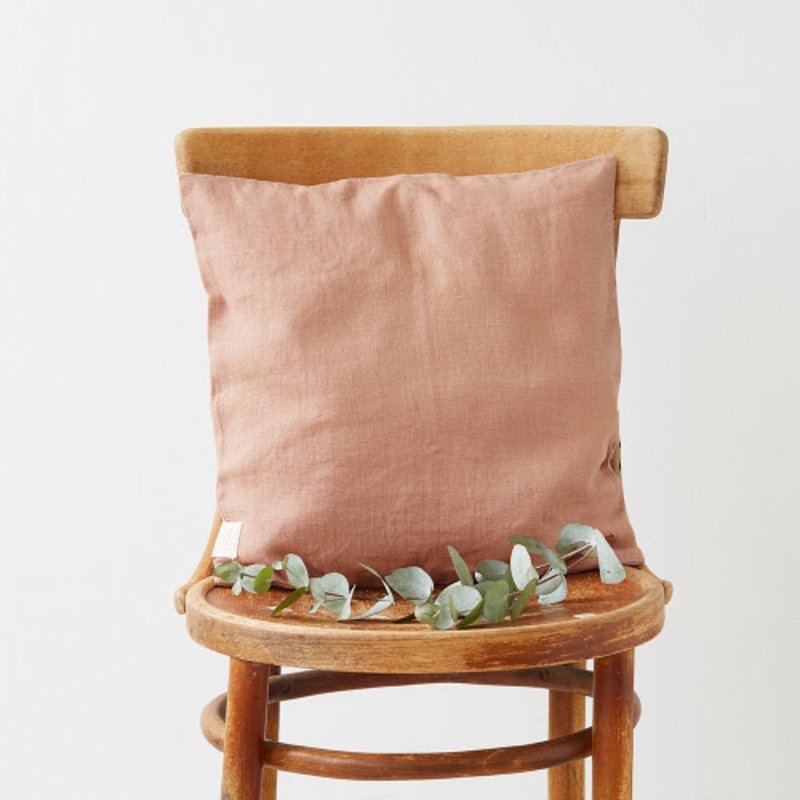 Linen Tales CAFE CREME CUSHION COVER