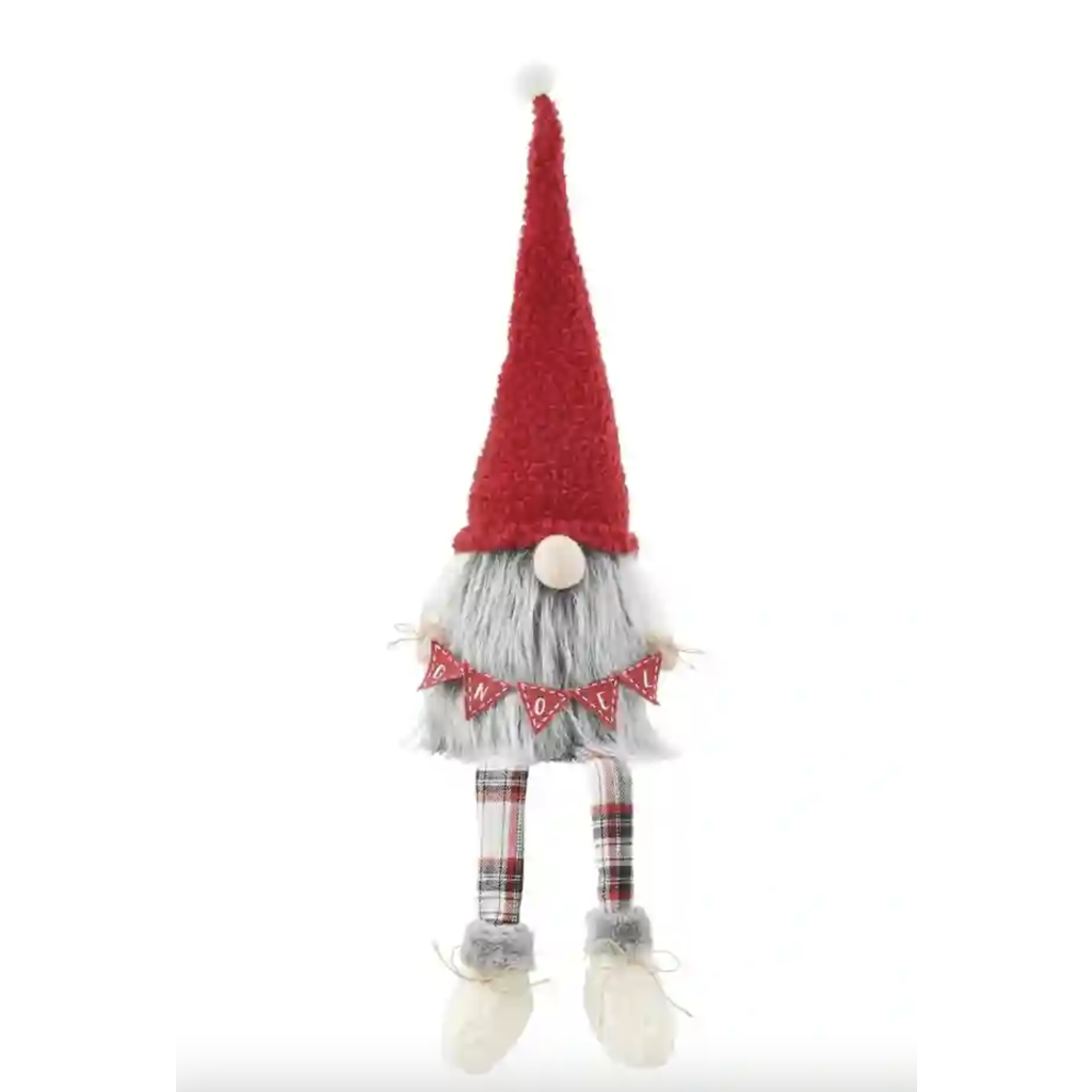 GNOEL CHRISTMAS DANGLE LEG GNOME