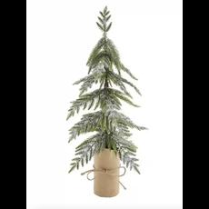 SILVER GLITTER CHRISTMAS TREE
