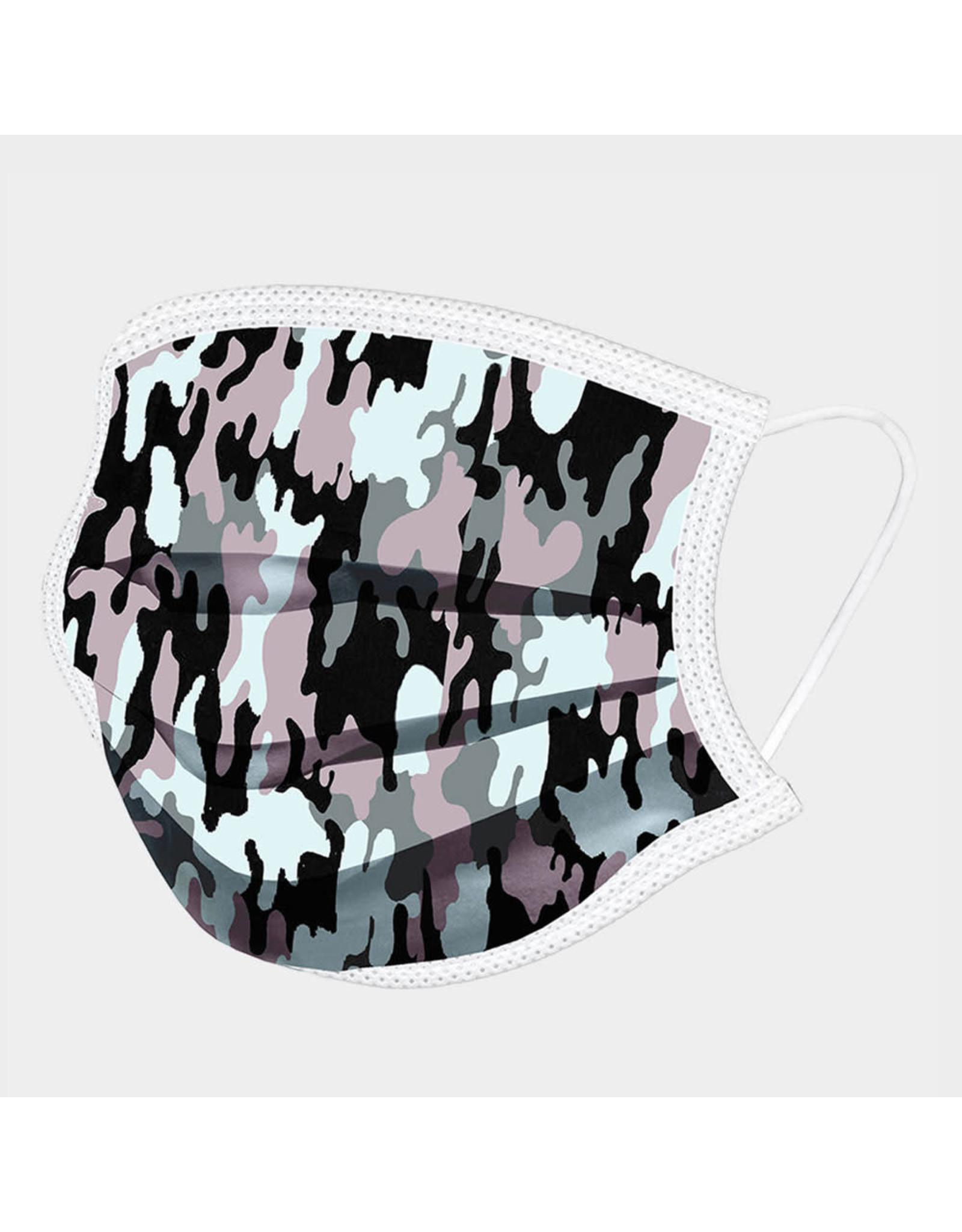 Camo Cotton Fabric Mask