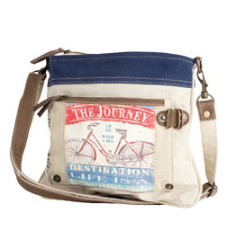 The Journey is the Destination Crossbody