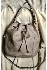 Vegan Leather Bucket Bag