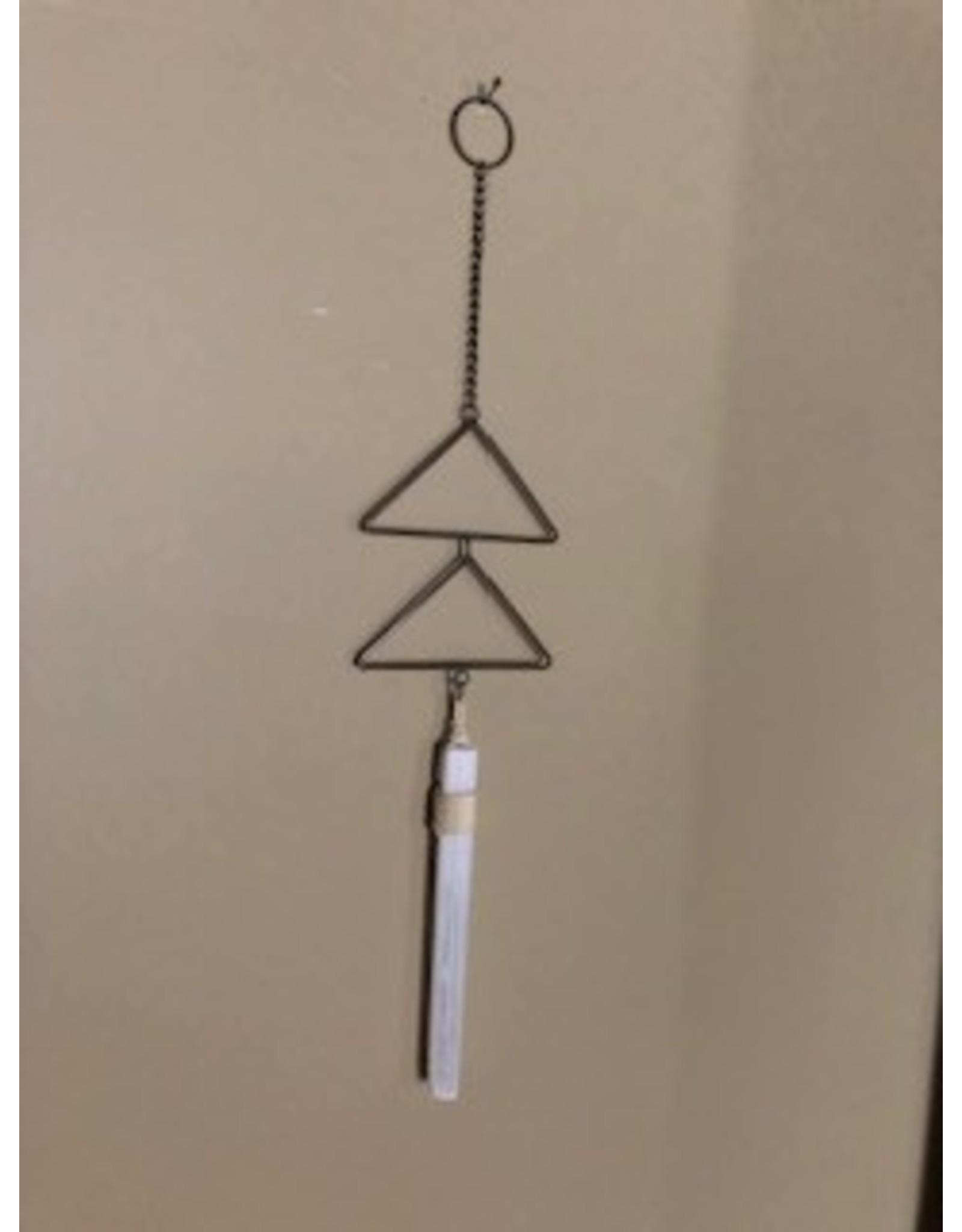"Selenite & Triangle ""Chime"""