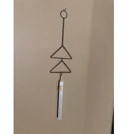 "Selenite & Triangle ""Chime"""