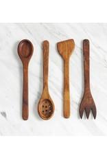 Wood-carved Serving Utensils