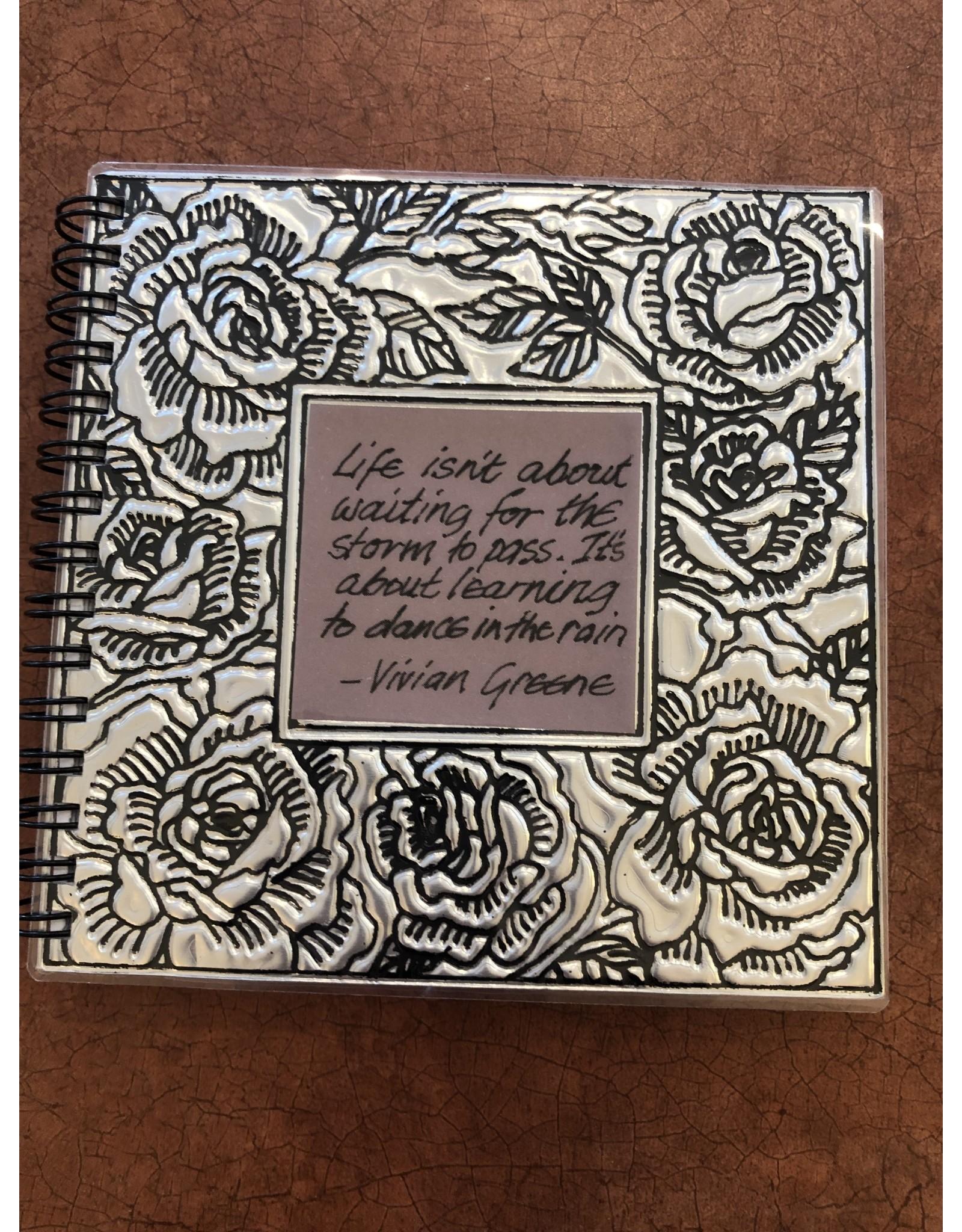 Hand Embossed Journal