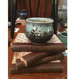 Tealight Leaf Pottery