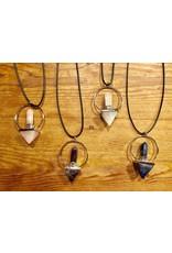 Pyramid Point Pendulum Necklace